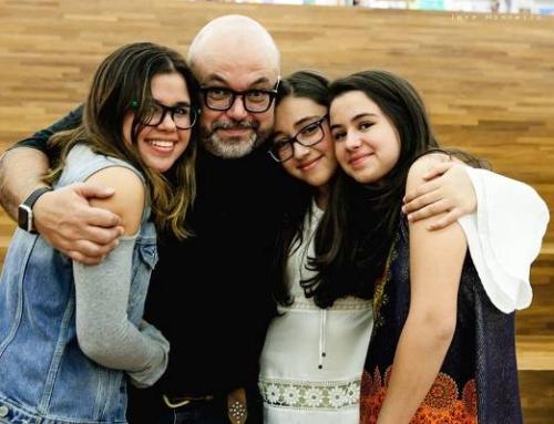 Mentor Neto e as aventuras de ser pai de três meninas!