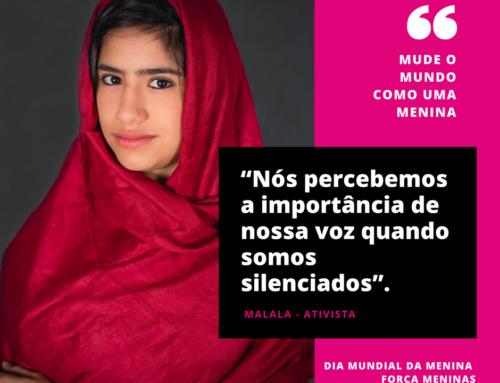 Dia internacional da menina: Mude o mundo como uma menina
