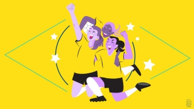 As meninas que arrasam no futebol