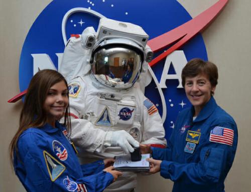 Primeira Menina Astronauta chega a Marte em 2033